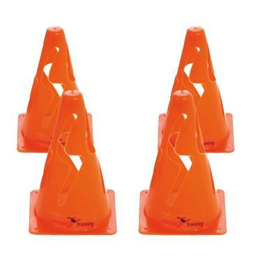 """Precision 9"""" Collapsible Cones Set of 4 - Orange"""