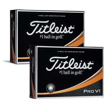 TITLEIST PRO V1 GOLF BALLS SET OF 12 - WHITE