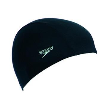 Speedo Polyester Cap - BLACK