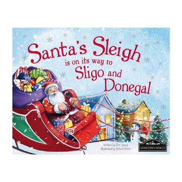 SANTA SLEIGH IS COMING TO DONEGAL/SLIGO - BLUE
