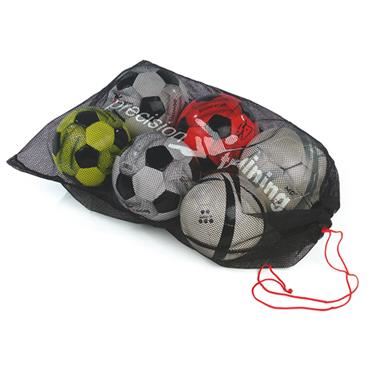 Precision Football Mesh Bag (10 Balls) - Multi Coloured