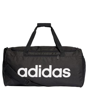 ADIDAS CORE DUFFLE BAG - BLACK/WHITE