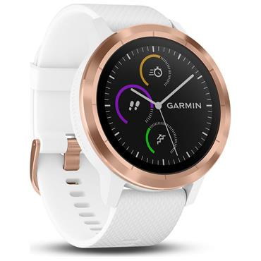 Garmin Vivoactive 3 Smart Watch - White/Rose Gold