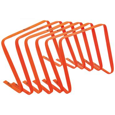 "Precision 15"" Flat Hurdles Set of 6 - Orange"