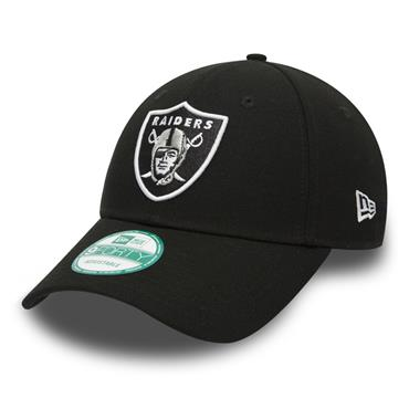New Era Oakland Raiders Baseball Cap - Black/White