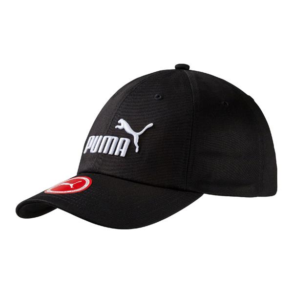 61418104871 PUMA ADULTS ESSENTIALS BASEBALL CAP - BLACK