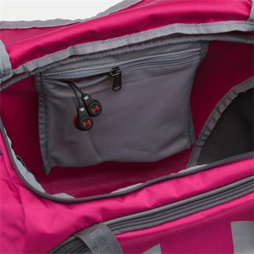 UNDER ARMOUR UNDENIABLE 3.0 DUFFLE BAG - PINK/GREY