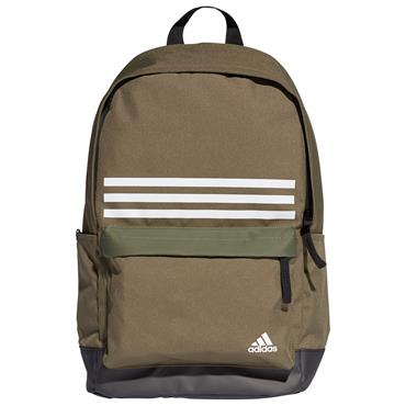 Adidas 3 Stripe Backpack - Green