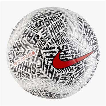 NIKE NEYMAR FOOTBALL - WHITE/BLACK