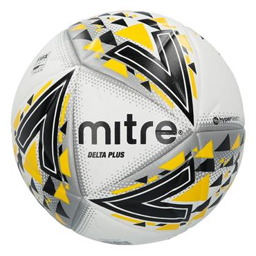 MITRE DELTA PLUS FOOTBALL SIZE 5 - WHITE