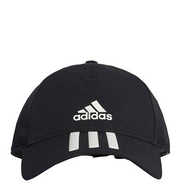 Adidas C40 3 Stripe Hat - Black/White
