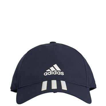 Adidas C40 3 Stripe Hat - Navy/White