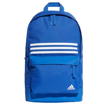 Adidas 3 Stripe Backpack - Blue/White