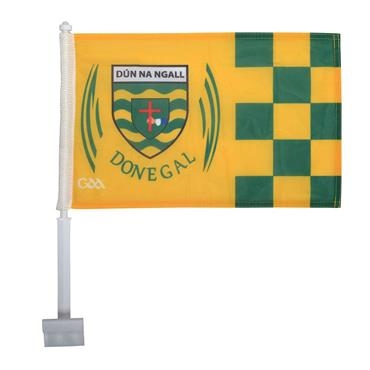 Donegal GAA Car Flag - Green