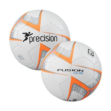Precision Fusion Lite Footall | (Ages U6-U8) | 290G - Orange/While