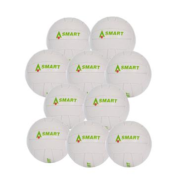 Karakal Smart Touch Football Pack of 10 - White