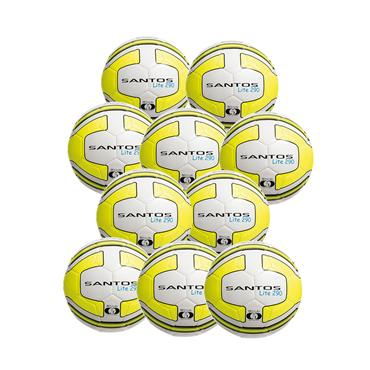 PRECISION SANTOS LITE 290G PACK OF 10 - WHITE/YELLOW