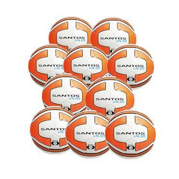 Precision Santos Lite 320G Pack of 10 - White/Orange