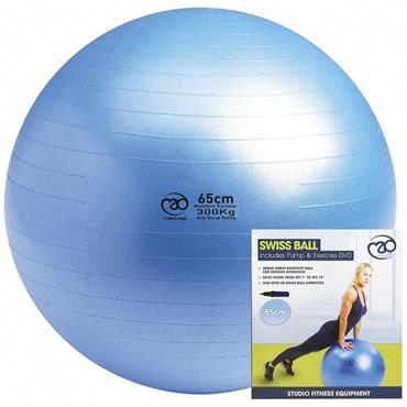 Yoga Mad 300KG Swiss Gym Ball - Blue