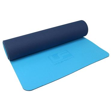 Ultimate Performance TPE Yoga Mat 6mm - Blue/Navy