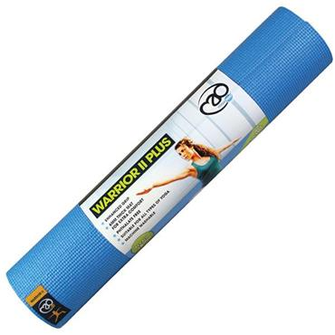 Fitness Mad Warrior II Plug Yoga Mat 6mm - Blue