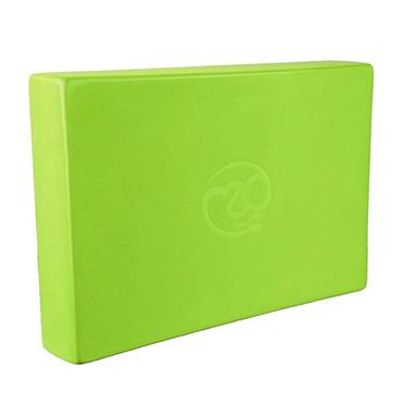 Fitness Mad Full Yoga Block - Lime Green