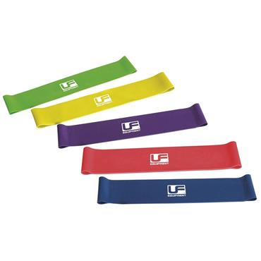 "Ultimate Performance Resistance Band Loop (Set of 5) 10"" - Multi"