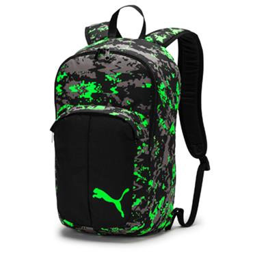 PUMA Pro Training II Medium Bag - Black/Green