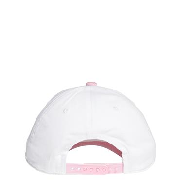 ADIDAS WOMENS GRAPHIC CAP - WHITE/PINK