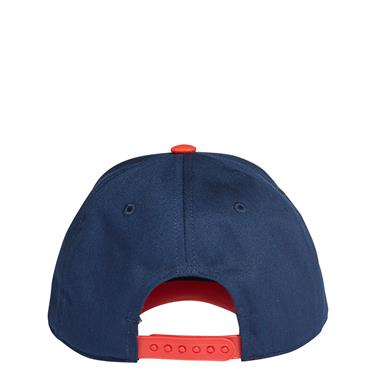 Adidas Mens Graphic Cap - Navy/Red