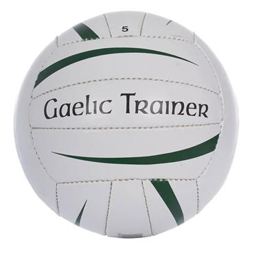 O'Neills Gaelic Trainer Football Size 5 - White