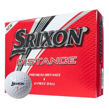 Srixon Distance Golf Balls Set of 12 - WHITE