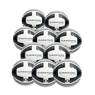 Precision Santos Lite 370G Pack of 10 - White/Black