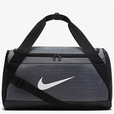 Nike Brasilia Small Training Duffle Bag - Grey
