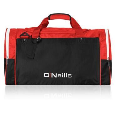 """O'Neills Urris GAA Denver 22"""" Bag - Red/Black"""