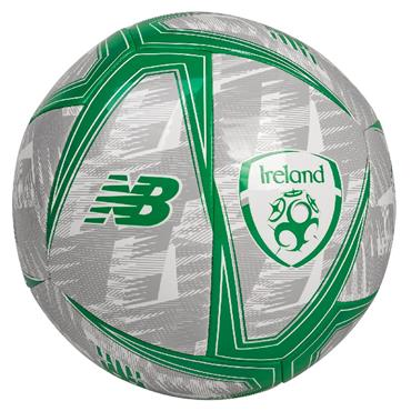 New Balance FAI Ireland Liftstyle Dash Football - Grey/Green