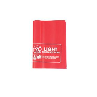 Yoga Mad Resistance Band Light 150cm x 1.5m - Red