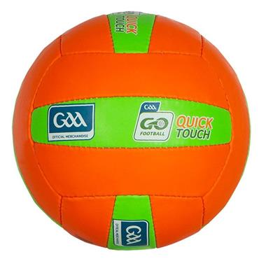 O'Neills Quick Touch Football | (Age U8-U10) - Orange/Green