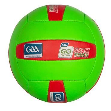 O'Neills Smart Touch Football | (Age U10-U12) - GREEN/RED