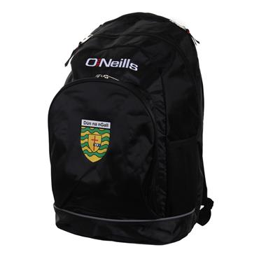 O'Neills Donegal GAA Harvard Backpack - BLACK