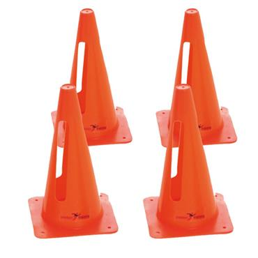 "Precision 12"" Collapsible Cones Set of 4 - Orange"