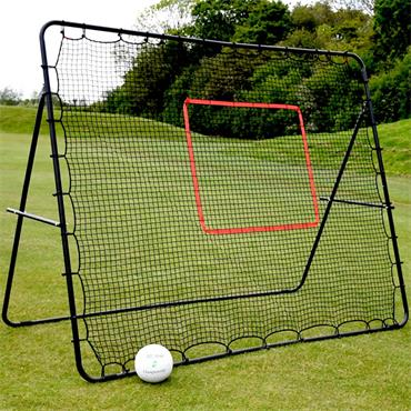 Precision Pro Jumbo Football/GAA Rebounder - BLACK