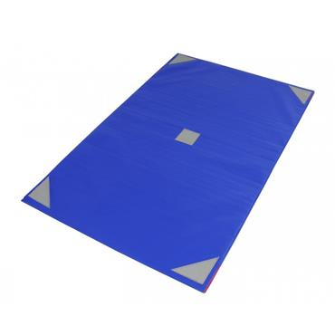 Sure Shot Lightweight Gymnastics Mat/Tumbling Mat | 6ft x 4ft x 25mm | - Blue