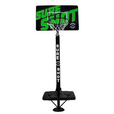 Sure Shot Urban Portable Basketball Unit - BLACK