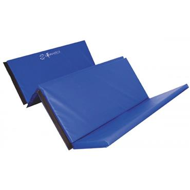 Sure Shot Foldable Gymnastics Mat/Tumbling Mat | 8ft x 4ft x 60mm | - Blue