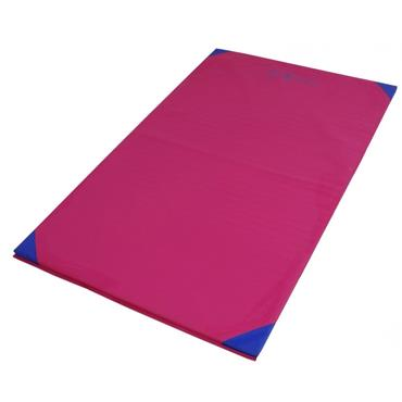 Sure Shot Lightweight Gymnastics Mat/Tumbling Mat | 6ft x 4ft x 25mm | - Pink