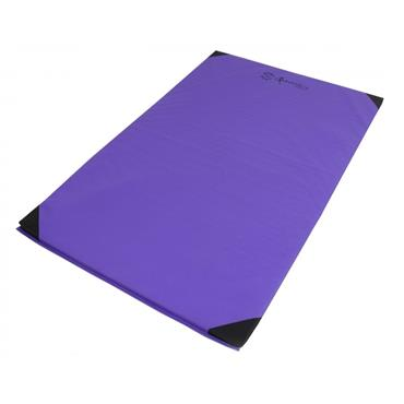 Sure Shot Lightweight Gymnastics Mat/Tumbling Mat | 6ft x 4ft x 25mm | - Purple