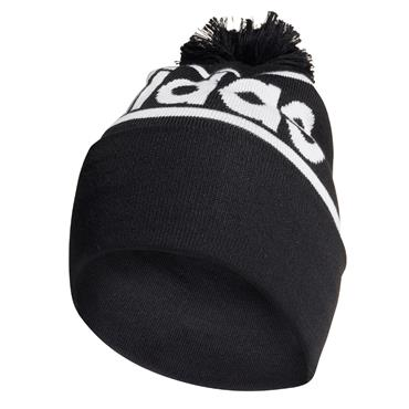Adidas Woolie Hat with Pompom - BLACK