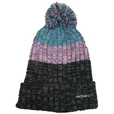 Ridge 53 Woolly Bobble Hat - Pink