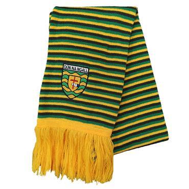 Donegal GAA Scarf - Green/Yellow